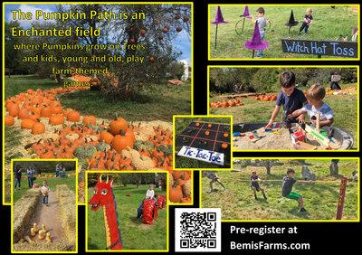 Pumpkin Path Sept 18 & 19